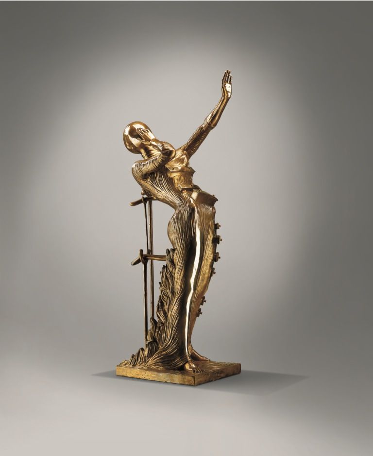 Woman Aflame Museum Sculpture The Dal 237 Universe