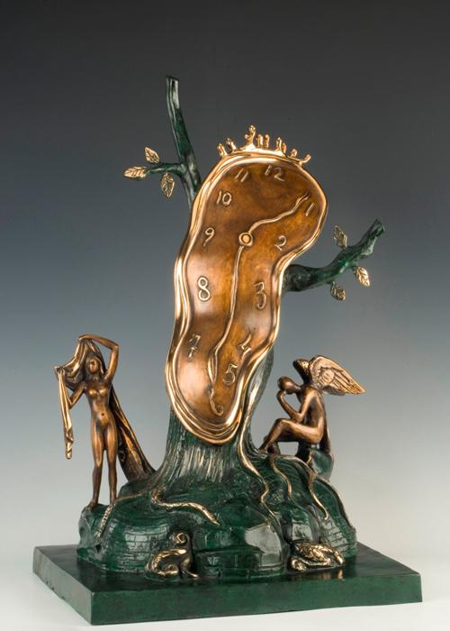 nobility of time for sale the dal universe salvador dali sculpture - Salvador Dali Lebenslauf